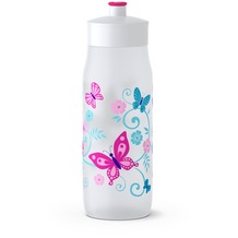 emsa SQUEEZE Trinkflasche, Butterfly, 0,6 L