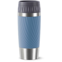 emsa Travel Mug Easy Twist 0,36L blau wasserblau