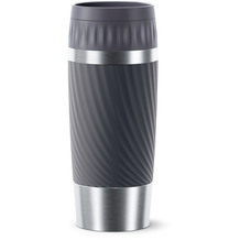 emsa Travel Mug Easy Twist 0,36L grau Anthrazit