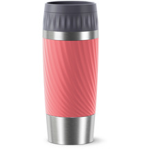 emsa Travel Mug Easy Twist 0,36L rot Living Coral