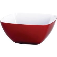 emsa Vienna Schale, transparent rot/weiß, 20 cm