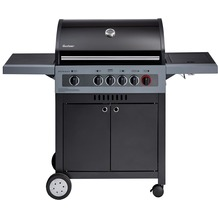 Enders Boston Black 4 IK Turbo Gasgrill Grillwagen