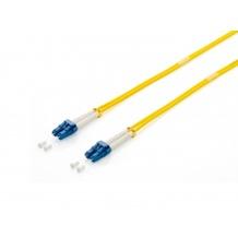 Equip FO Duplex Jumper LC 09/125µ, 2,0m, yellow, LSOH
