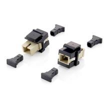 Equip Keystone LWL-Durchführungsmodule MM (8 Stück) schwarz