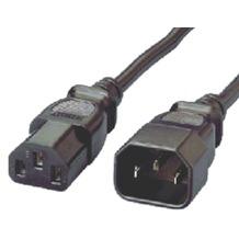 Equip Netzverlängerung Kaltgeräte VDE Norm 1,8m schwarz