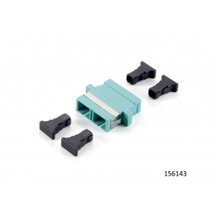 Equip SC Adapter/Kuppler Multi-Mode duplex (12 Stück) 156143