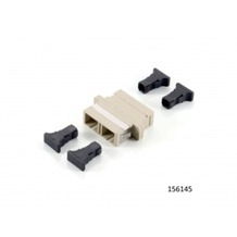 Equip SC Adapter/Kuppler Multi-Mode duplex (12 Stück) 156145