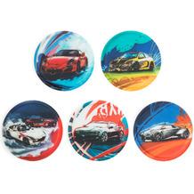 ergobag Klettie-Set mit verschiedenen Motiven II 17,5 cm Autos