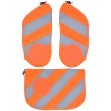 ergobag Cubo Sicherheitsset 3tlg. mit Reflektorstreifen fluo orange reflektierende streifen orange