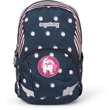 ergobag Ease Kinderrucksack 35 cm pünktchen blau mit rosa punkten