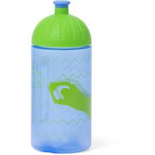 ergobag Isybe Trinkflasche 20 cm libäro 2 zu 0 zickzack blau grün