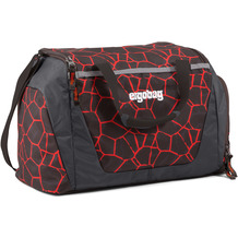 ergobag Sporttasche 40 cm supbärheld lava rot schwarz
