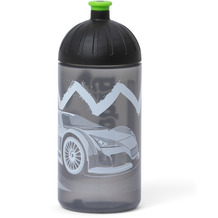 ergobag Trinkflasche Isybe 20 cm drunter und drübär schwarz grün zickzack