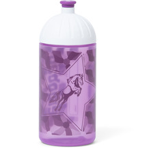 ergobag Trinkflasche Isybe 20 cm nachtschwärmbär lila blumen