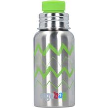 ergobag ISYbe Trinkflasche X 0,5l 20 cm Zickzack