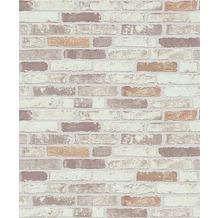 Erismann Strukturtapete auf Vlies 670311 Brix unlimited Muster/Motiv beige, braun, creme