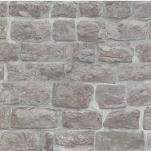 Erismann Strukturtapete auf Vlies 581810 Brix unlimited Muster/Motiv grau