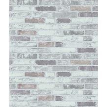 Erismann Strukturtapete auf Vlies 670310 Brix unlimited Muster/Motiv grau