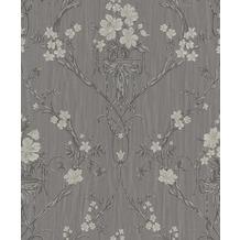 Erismann Strukturtapete auf Vlies Eleganza Muster/Motiv taupe, grau