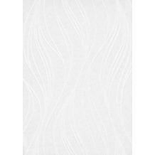 Erismann Strukturtapete auf Vlies 400201 RollOver VISION 2 Streifen/Wellen weiß