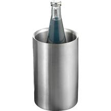 Esmeyer Flaschenkühler MIAMI aus Edelstahl, gebürstet, doppelwandig Sektkühler Weinkühler