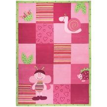 ESPRIT Kinder-Teppich Bee ESP-2844-01 rosa/pink 70 x 140 cm