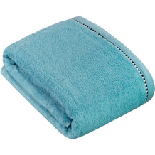 """ESPRIT Frottierserie """"Box Solid"""" sky blue Badetuch 100 x 150 cm"""