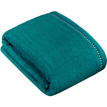 """ESPRIT Frottierserie """"Box Solid"""" teal Badetuch 100 x 150 cm"""