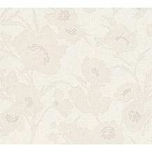 ESPRIT florale Mustertapete Fall in Love Vliestapete beige creme metallic 10,05 m x 0,53 m