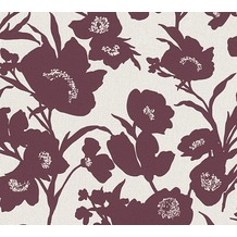 ESPRIT florale Mustertapete Fall in Love Vliestapete beige creme rot 10,05 m x 0,53 m