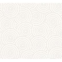 ESPRIT grafische Mustertapete Dream of Spring Vliestapete creme grau 10,05 m x 0,53 m