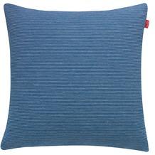 ESPRIT Kissenhülle Needlestripe, blau 38x38cm