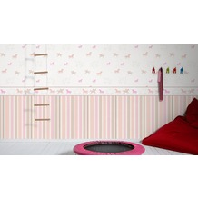 esprit kids Vliestapete Tapete beige rosa rot 10,05 m x 0,53 m