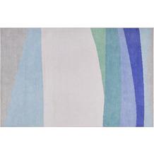 ESPRIT Kurzflor-Teppich CURVES ESP-10018-01 blau 60x100