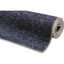 ESPRIT Kurzflor-Teppich MARLY ESP-44379-05 dunkelblau 60x100