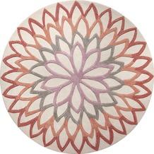 ESPRIT Teppich Lotus Flower ESP-4007-03 100 cm x 100 cm