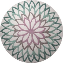 ESPRIT Teppich, Lotus Flower, ESP-4007-04 100 cm x 100 cm