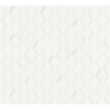 ESPRIT Vliestapete Afternoon Haze Tapete geometrisch grafisch grau weiß beige 10,05 m x 0,53 m