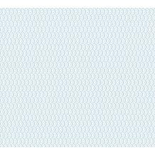 ESPRIT Vliestapete ECO Ökotapete PVC-frei blau metallic weiß 358191 10,05 m x 0,53 m