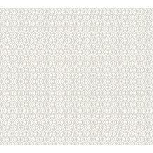 ESPRIT Vliestapete ECO Ökotapete PVC-frei grau metallic weiß 358194 10,05 m x 0,53 m