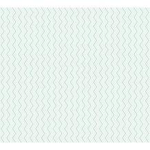 ESPRIT Vliestapete ECO Ökotapete PVC-frei grün metallic weiß 358183