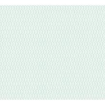 ESPRIT Vliestapete ECO Ökotapete PVC-frei grün metallic weiß 358193