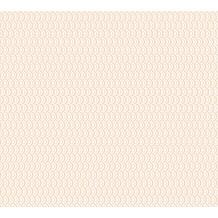 ESPRIT Vliestapete ECO Ökotapete PVC-frei metallic rosa weiß 358192