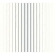 ESPRIT Vliestapete Evening Shade Tapete gestreift blau grau weiß 10,05 m x 0,53 m