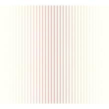 ESPRIT Vliestapete Evening Shade Tapete gestreift rosa weiß 10,05 m x 0,53 m