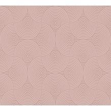 ESPRIT Vliestapete Minimalistic Authenticity Tapete metallic rosa rot 357153 10,05 m x 0,53 m