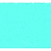 ESPRIT Vliestapete Tapete Uni blau grün 10,05 m x 0,53 m 366778