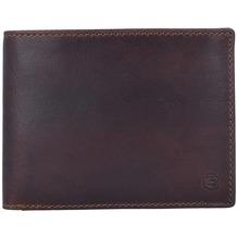 Esquire Dallas Geldbörse Leder 12,5 cm braun