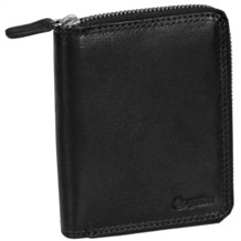 Esquire Duo Damengeldbörse I Leder 10 cm black