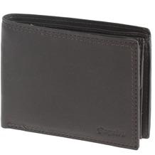 Esquire Duo Geldbörse Leder 12 cm brown